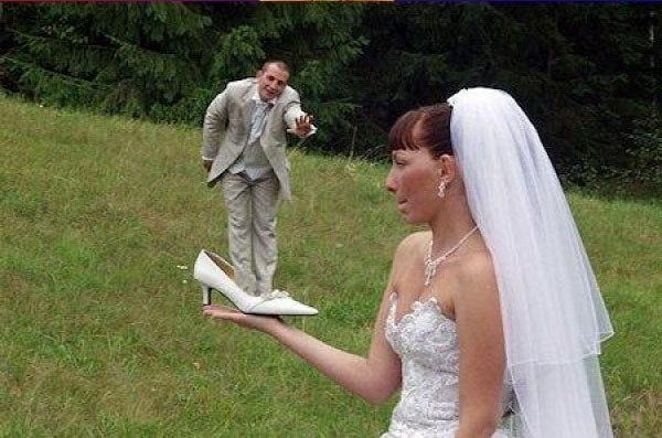 Гениальные свадебные снимки
