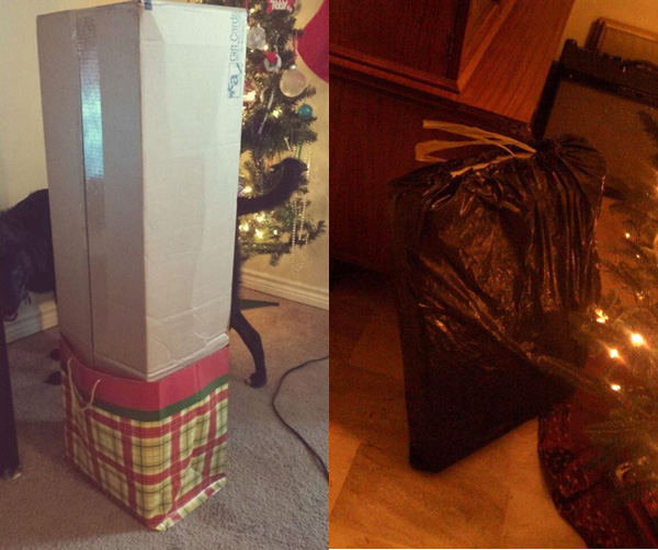 Упаковать подарок креативно
