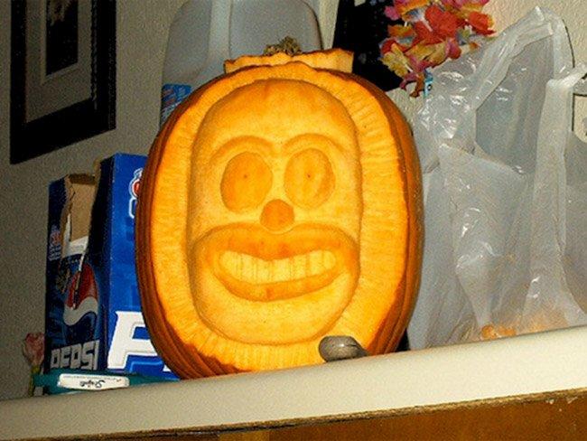 Креативные тыквы на Хэллоуин