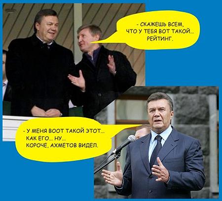 """Янукович поздравил Ахметова: """"Приятно, что все трофеи завоевала команда из Донецка"""" - Цензор.НЕТ 6948"""