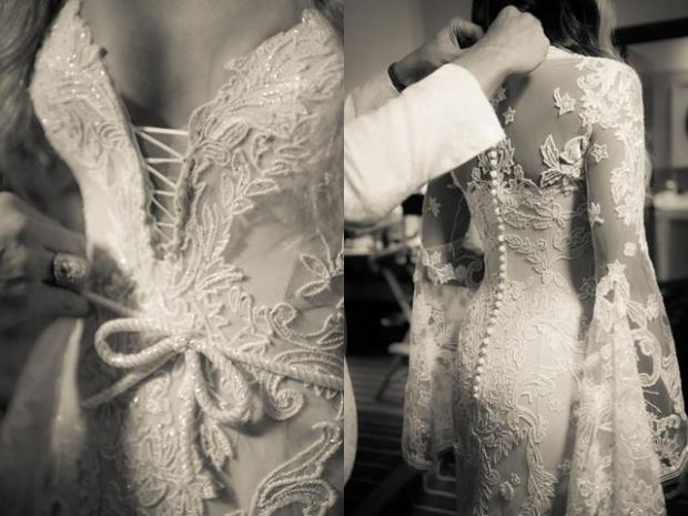 Свадебное платье Сиары: история создания