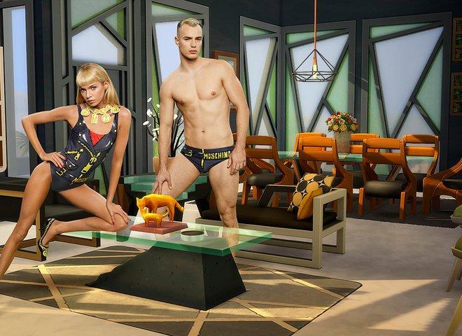 Moschino выпустит коллекцию одежды, вдохновленную видеоигрой The Sims