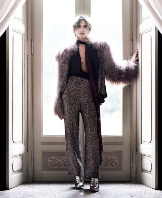 Бьянка Балті та Кармен Касс для Harper's Bazaar China