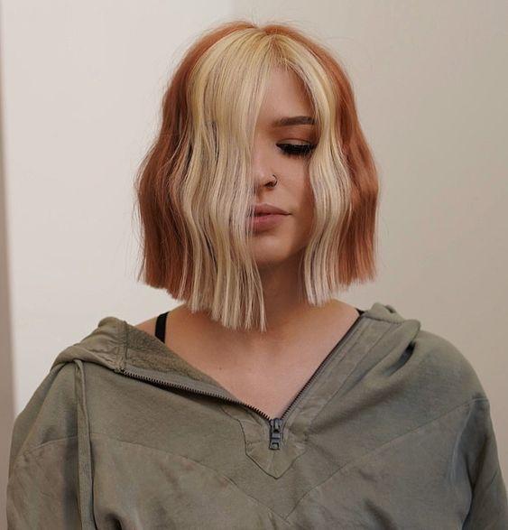 Трендовое окрашивание в медных оттенках: модные идеи