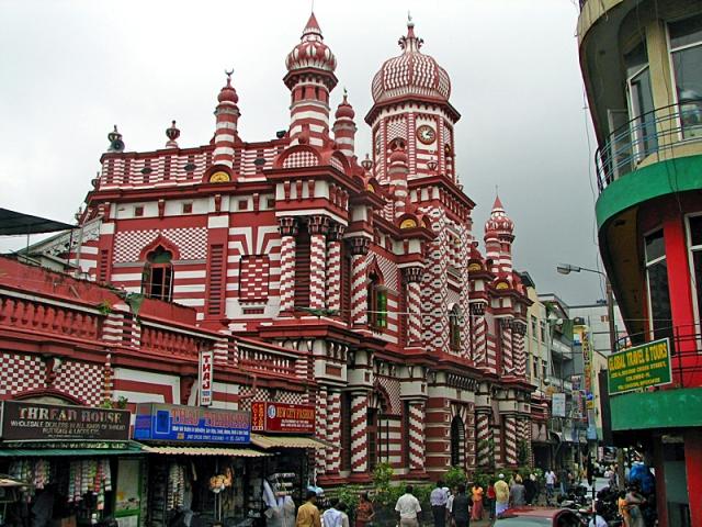5 причин поїхати в Коломбо: мечеть Джамі Уль Альфаро