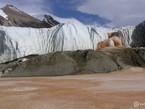 Кровавый водопад в Антарктиде - шокирующие фото