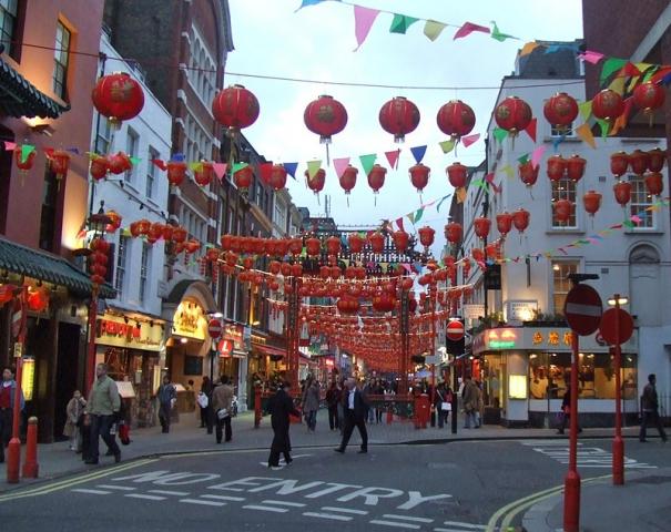 Достопримечательности Лондона: Район Чайнатаун