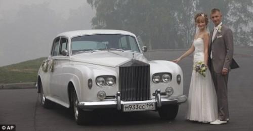 Лето 2010 Московская свадьба
