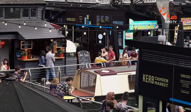 Рынок Camden Town в Лондоне