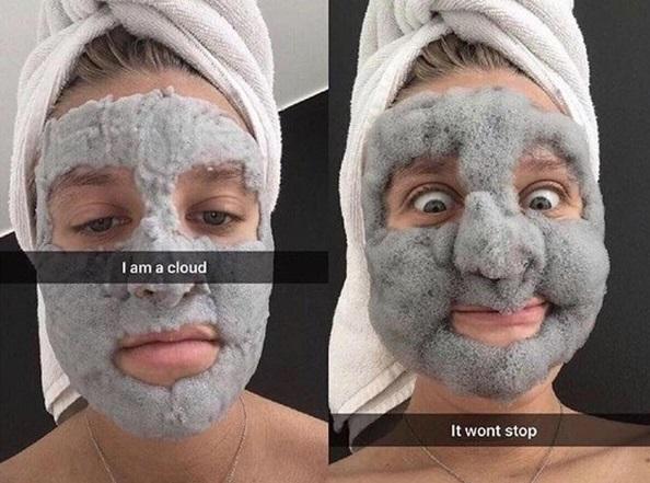 Кислородная маска из пены