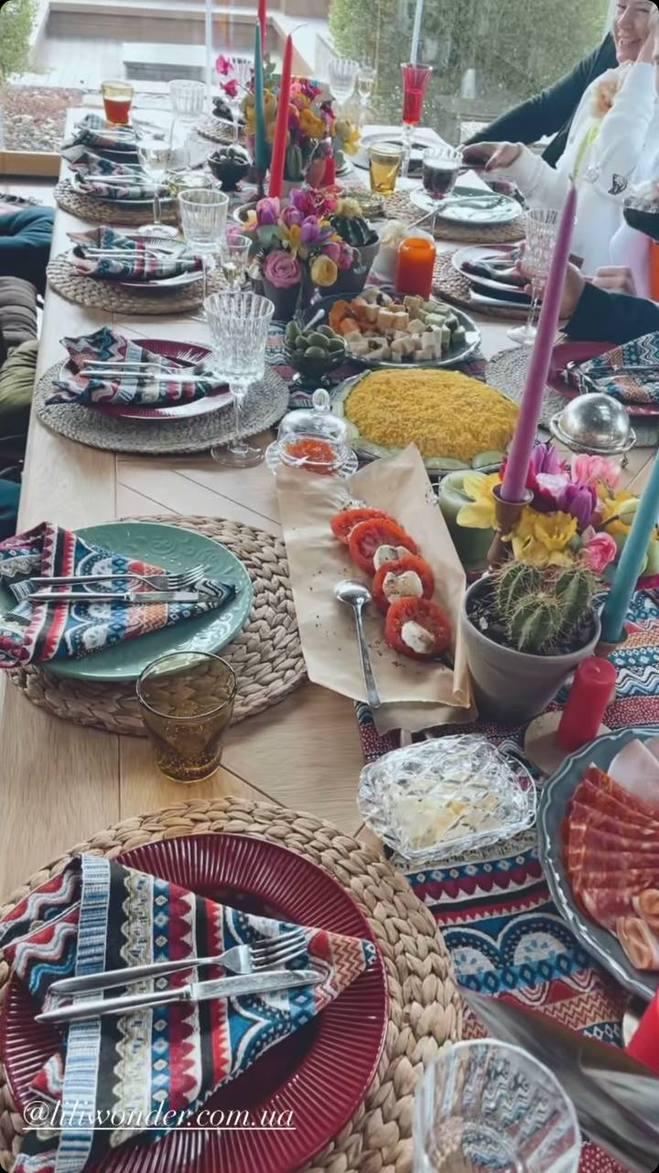 День рождения NK: стол в мексиканском стиле