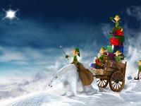 Рождественские обои на рабочий стол 2015
