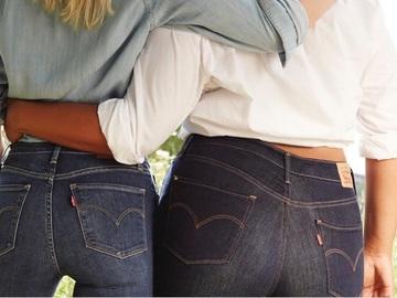 Скандальные джинсы от Levi's