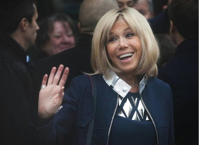 Бріжит Макрон - перша леді Франції