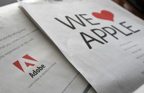 Adobe's Flash любит Apple