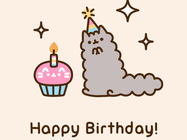 Няшные поздравления с днем рождения подруге 91
