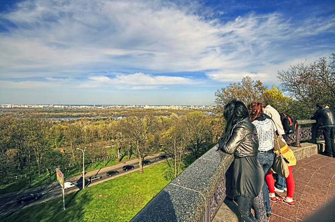 Киев с высоты птичьего полета: лучшие смотровые площадки столицы