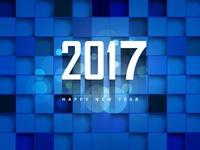 Прикольные обои с Новым годом 2017