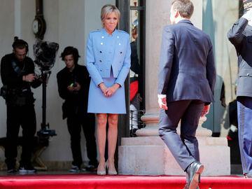 Стиль Бріжит Макрон на інавгурації президента Франції