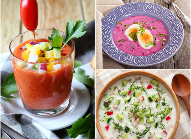 3 самых охлаждающих супа для жаркого дня