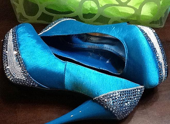 Блестящие каблуки