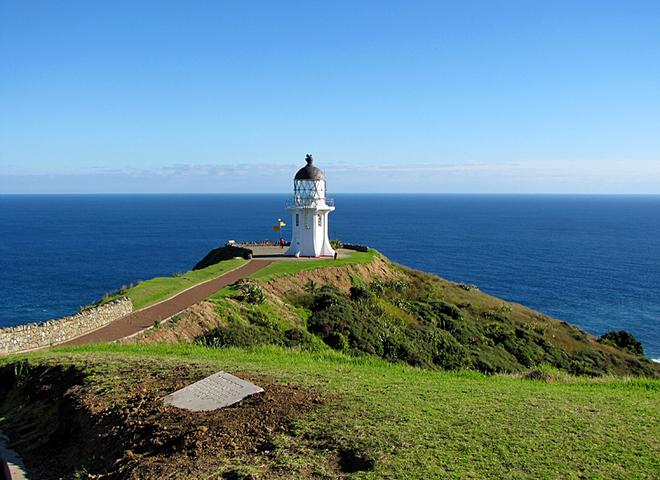 Отели на маяках: лучик света в море - the lighthouse,  New zealand