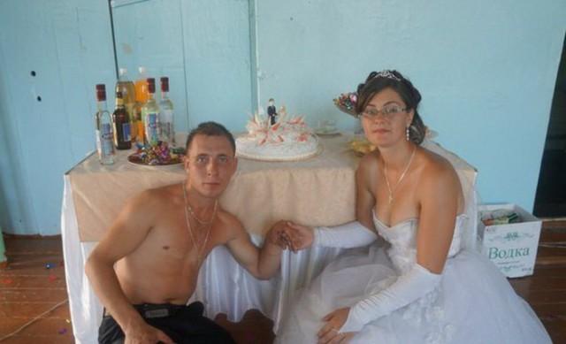 Типичная русская свадьба