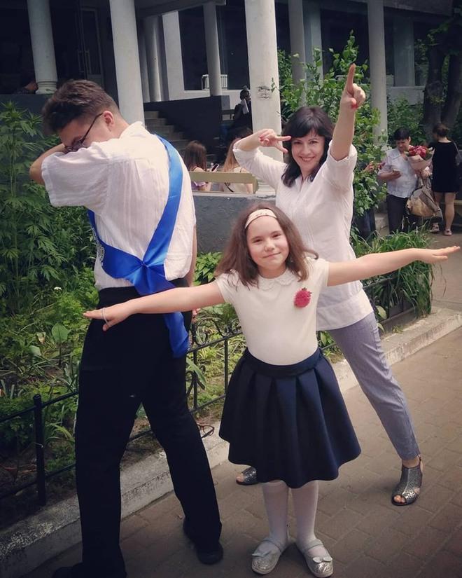 Украинская ведущая показала трогательные фото детей-выпускников