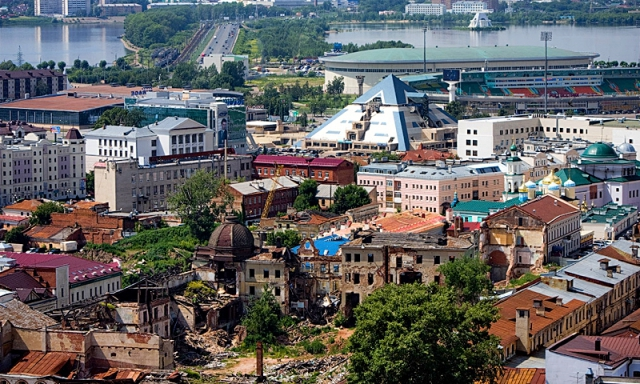 Висотна Казань: центр Казані