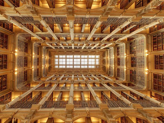Библиотека Джорджа Пибоди, Балтимор, США