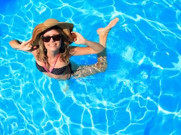 Як мати гарний вигляд у басейні