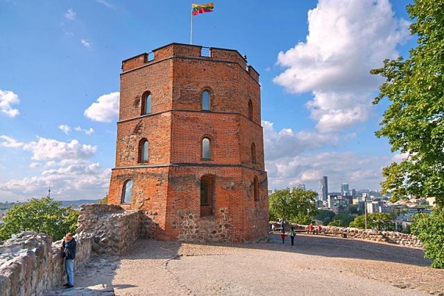 Достопримечательности Вильнюса: Башня Гедиминаса