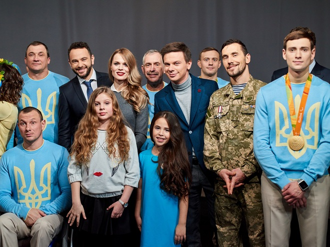 Гимн Украины 1+1
