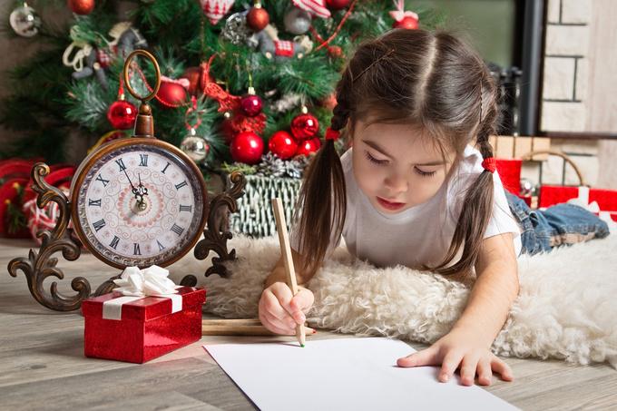 Лист Діду морозу на Новий рік