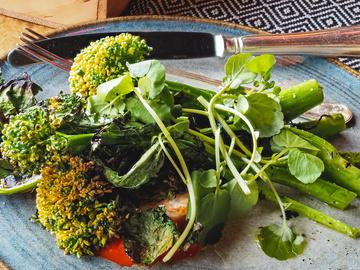 Рецепты салата из капусты брокколи