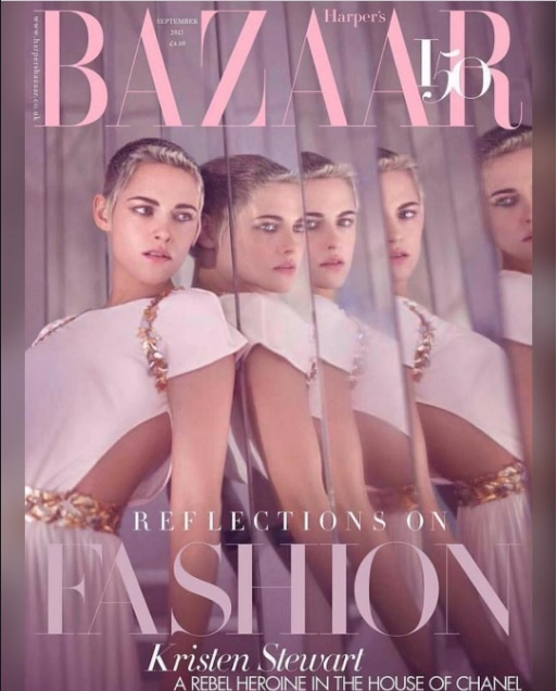 Крістен Стюарт для HARPER'S BAZAAR UK