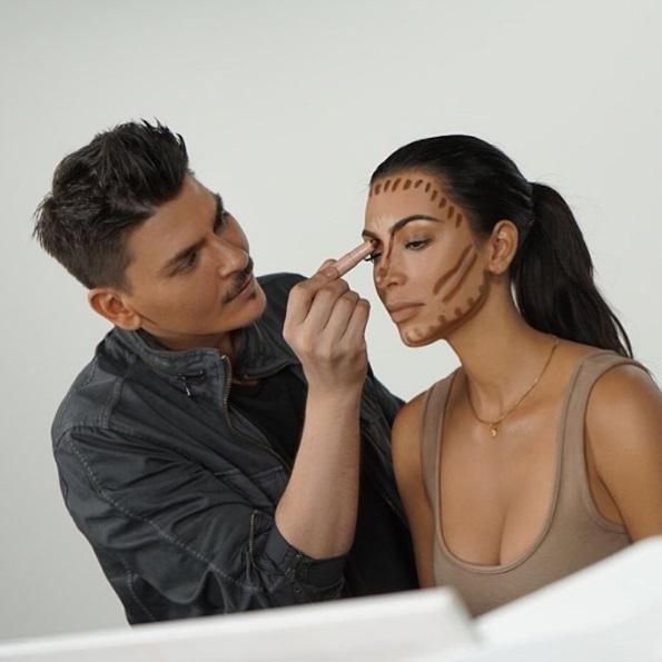 Ким Кардашьян косметика