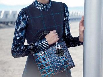 Марион Котийяр вновь стала лицом кампании Lady Dior