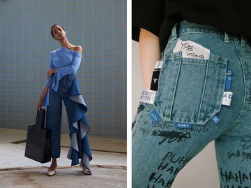 Самые модные джинсы 2021-2022
