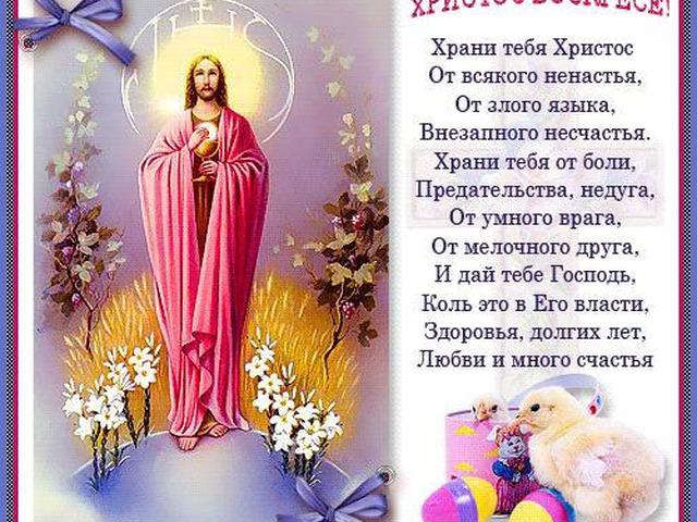 Христос воскрес поздравление красивое