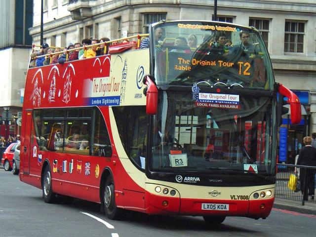 Достопримечательности Лондона: Экскурсионный автобус The Original Tour