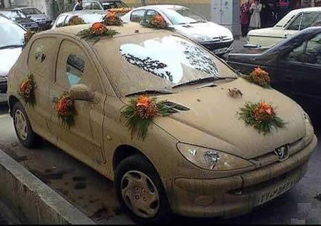 Подборка самого необычного свадебного транспорта