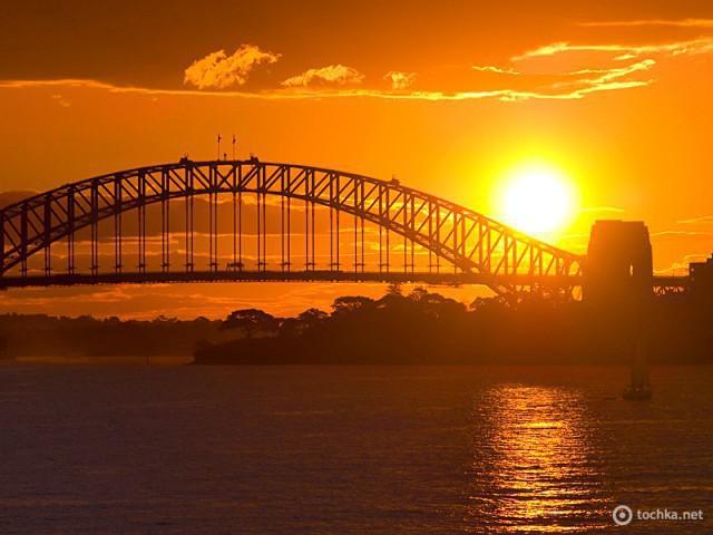 Закаты солнца: Сидней, Австралия