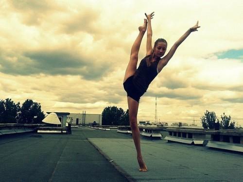 Прекрасные гимнастки