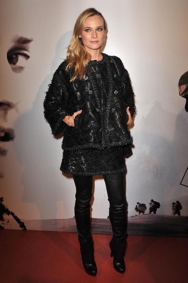 Диана Крюгер в Chanel