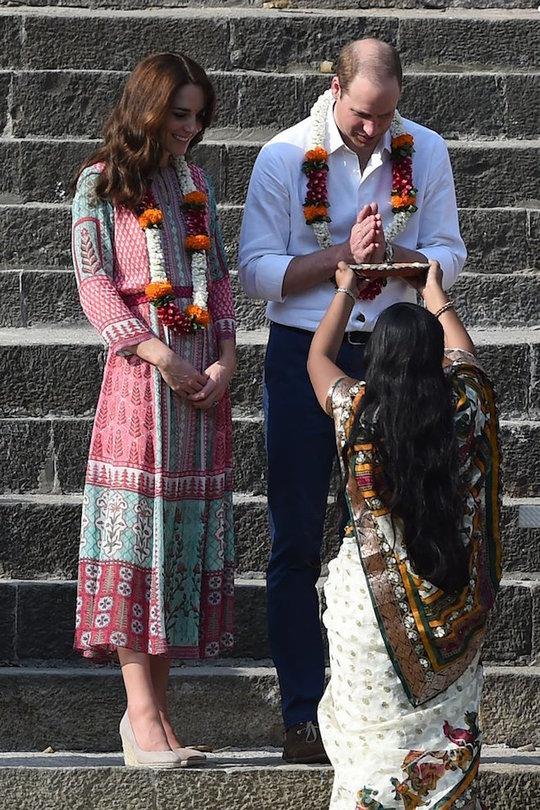 Кейт Міддлтон в Індії