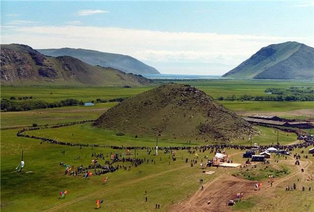 Озеро Байкал: гора Ерд