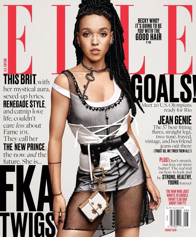 FKA Twigs в фотосесії для Elle (серпень 2016)