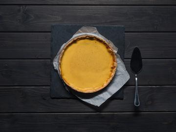 морковный пирог - постный рецепт