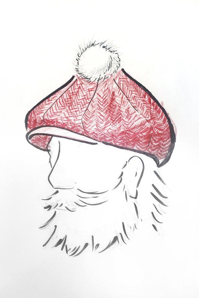 Одень Санту: дизайнеры создали шапки для главного новогоднего волшебника